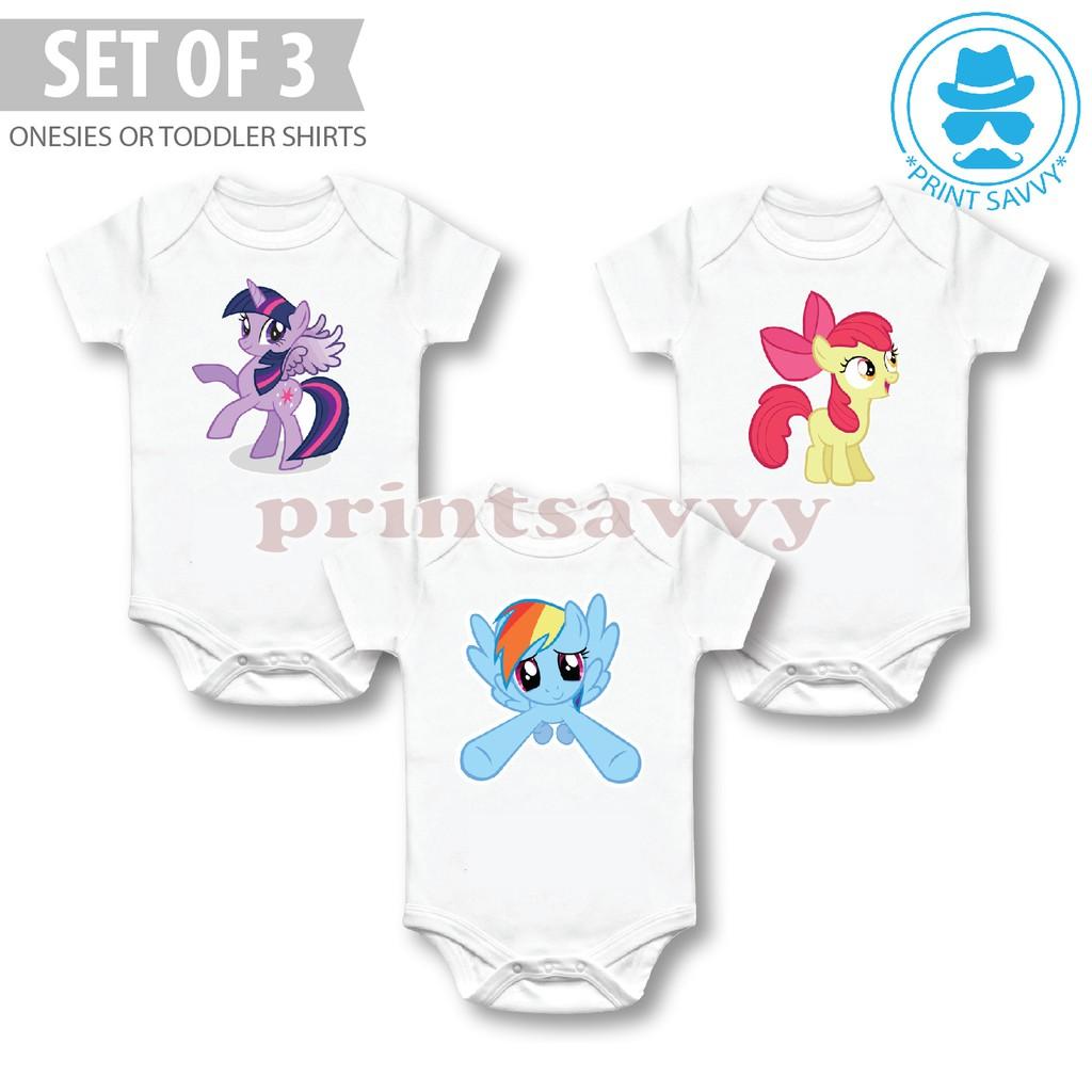 My Little Pony Twilight Sparkle Newborn Jumpsuit Baby Romper Bodysuit Clothes