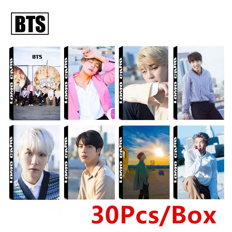 Kpop BTS Dicon Album Lomo Cards Photo Card Photocard