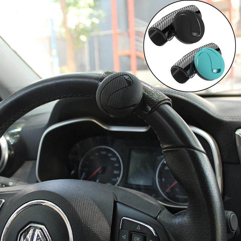 Red Universal Easy Turn Car Steering Wheel Knob Power Handle Spinner Knob Ball