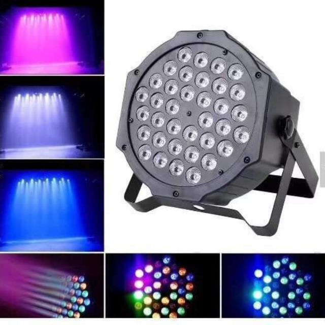 36 54 LED RGB Plastic Mini Flat Stage Par Light Lamp Ligting(high quality) | Shopee Philippines