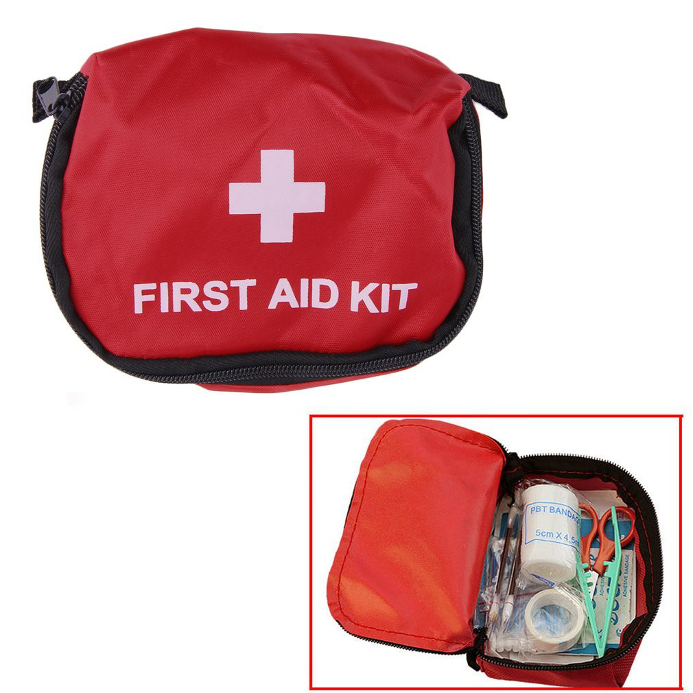 Outdoor Portable First Aid Kit Emergency Medical Bag Waterproof Car Kits Bag Travel Survival Kit Empty Bag Househld Fine Workmanship Safety & Survival Camping & Hiking