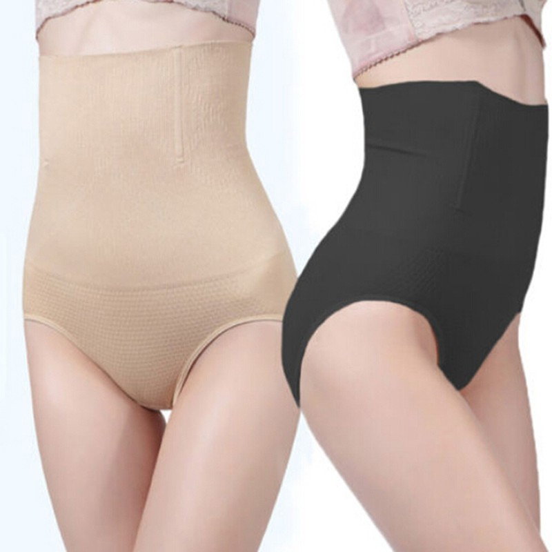 be8562c8f959 ProductImage. ProductImage. Women High Waist Control Briefs Shapewear Panty  Body Shaper Slim Tummy☆