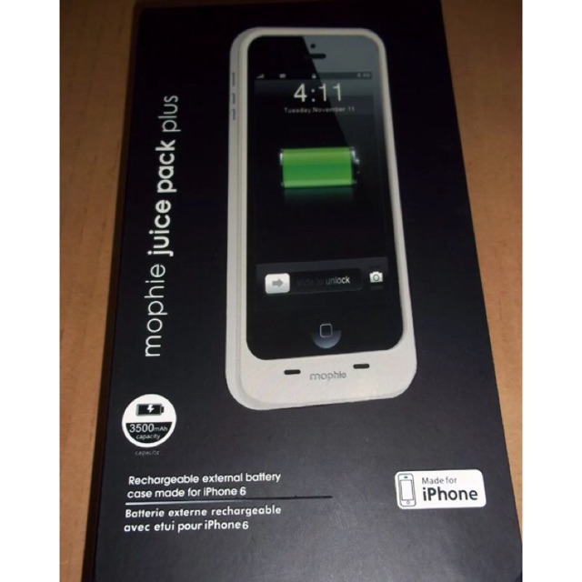 new style b3195 a5728 Mophie Juice Pack Plus for Iphone 6 3500mah