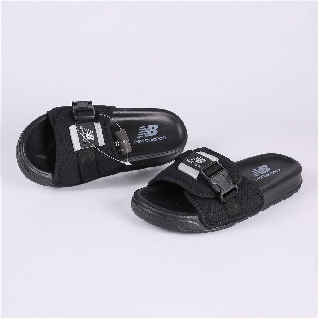 6410addeb1fc New Balance NB Slippers 17 new Korea-made SD2152BK Black | Shopee  Philippines