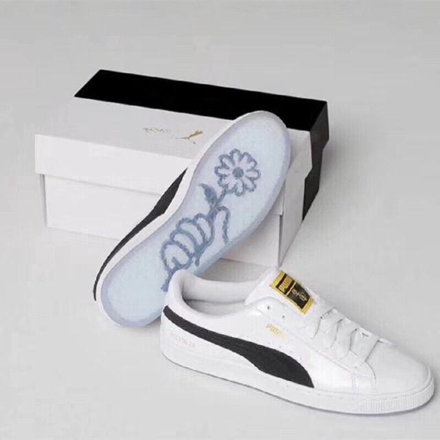 Ready Stock PUMA x BTS Basket Patent Sneakers Court Star Sneakers