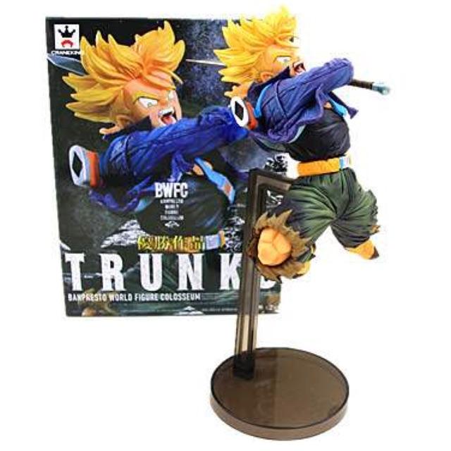DragonBall Z BWFC Super Saiyan Trunks Figure PVC Action Figure Model Trunks Toys