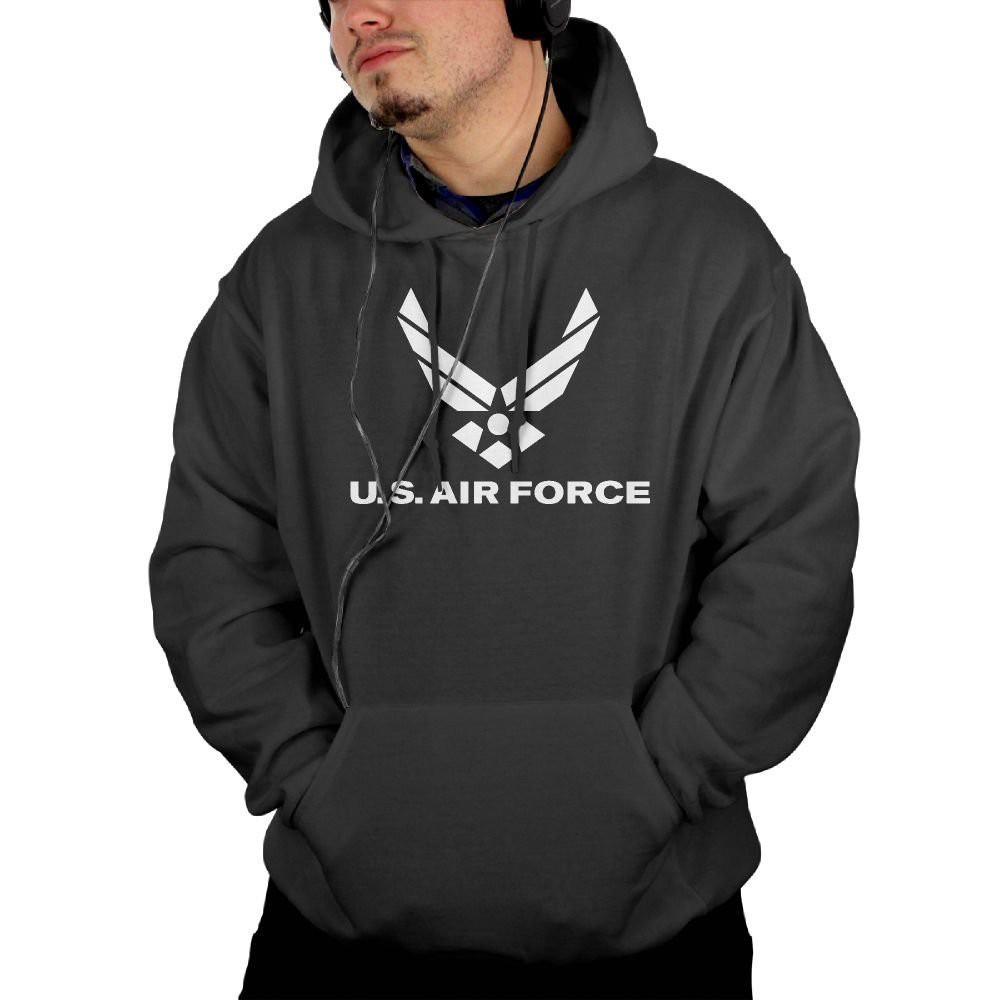 US Army Military Hoodie Air Force Star Sweatshirt USAF SIZES S-3XL