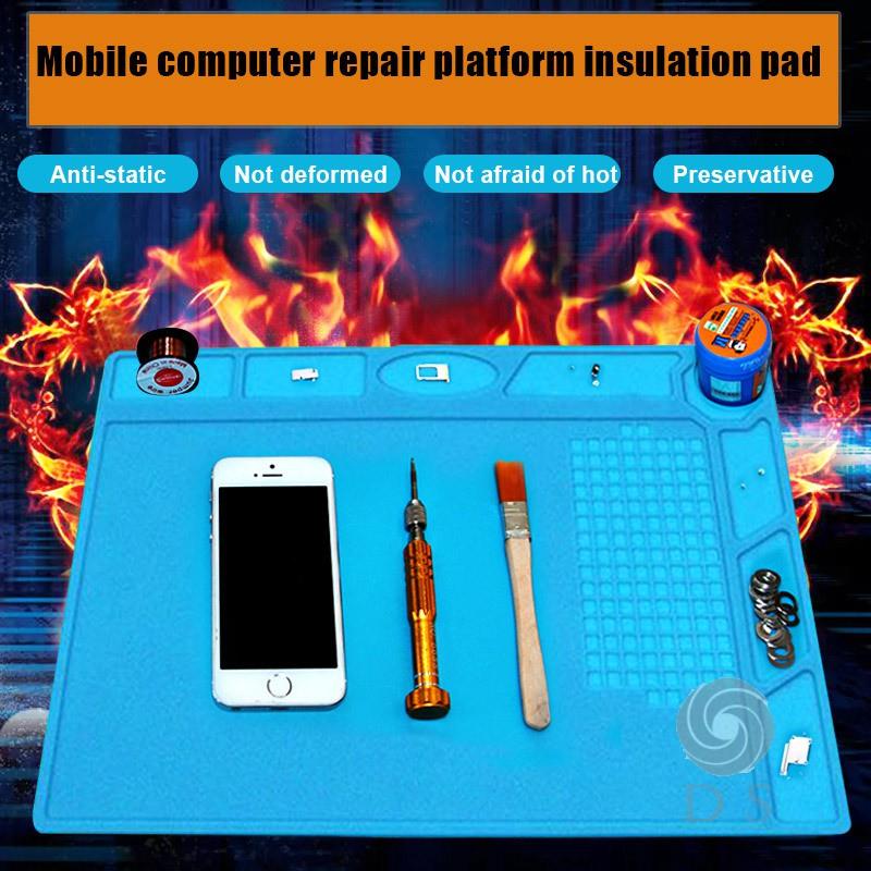 Multi-Function Anti-Static Mat Mobile Computer Repair Station Insulation Pad HO