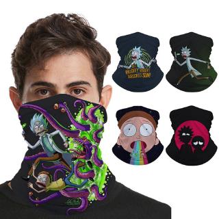 NA Unisex Rick/&Morty Neck Warmer Soft Neck Gaiter Windproof Bandanas Thermal Ear Face Mask For Men Women