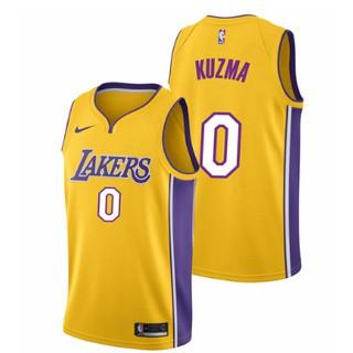 hot sale online 2dc83 8c89c xiaoxiapi Nike Kyle Kuzma #0 Los Angeles Lakers NBA Jersey ...
