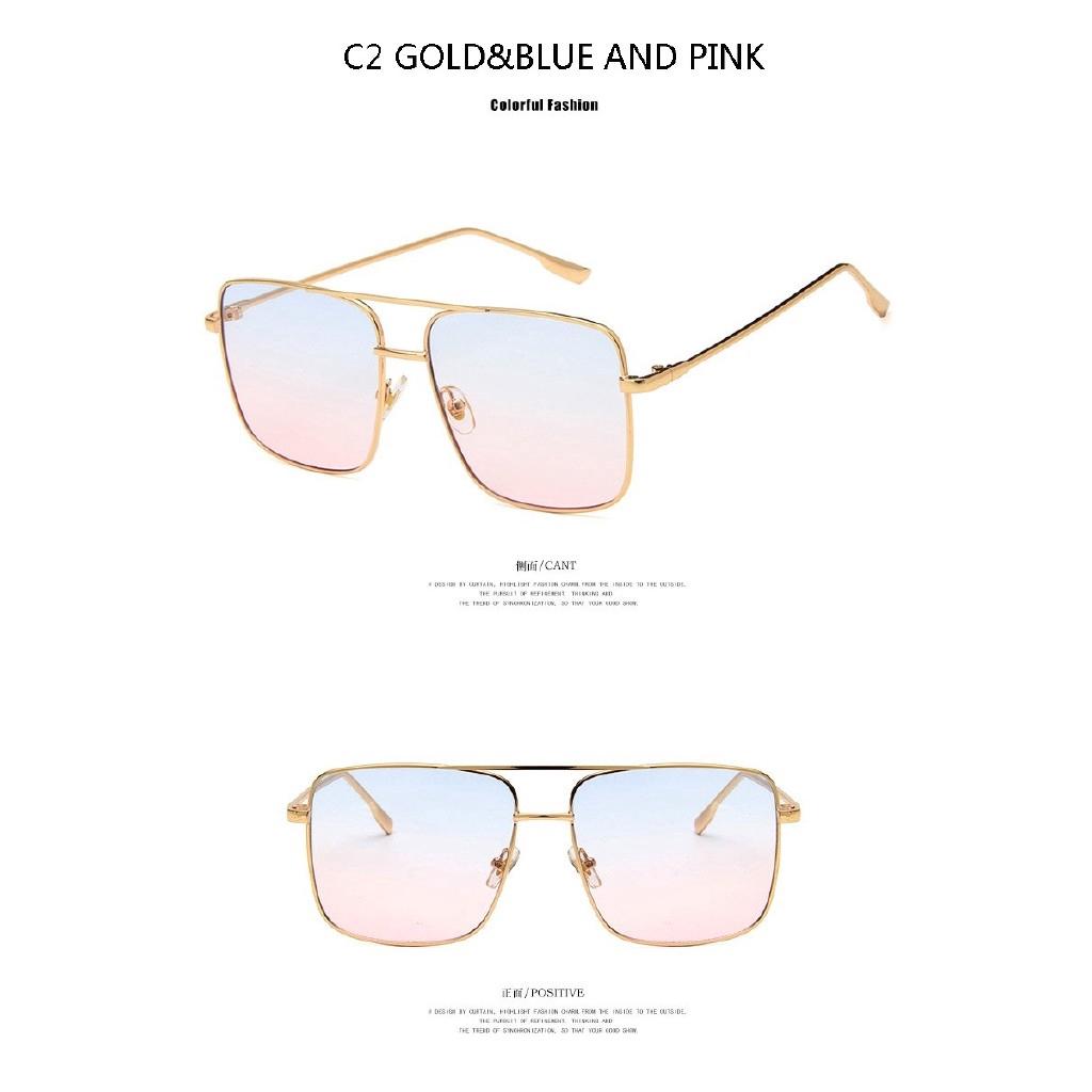 Men Women DG Eyewear Sunglasses Round Shapes Oversized Fashion Design 423 New