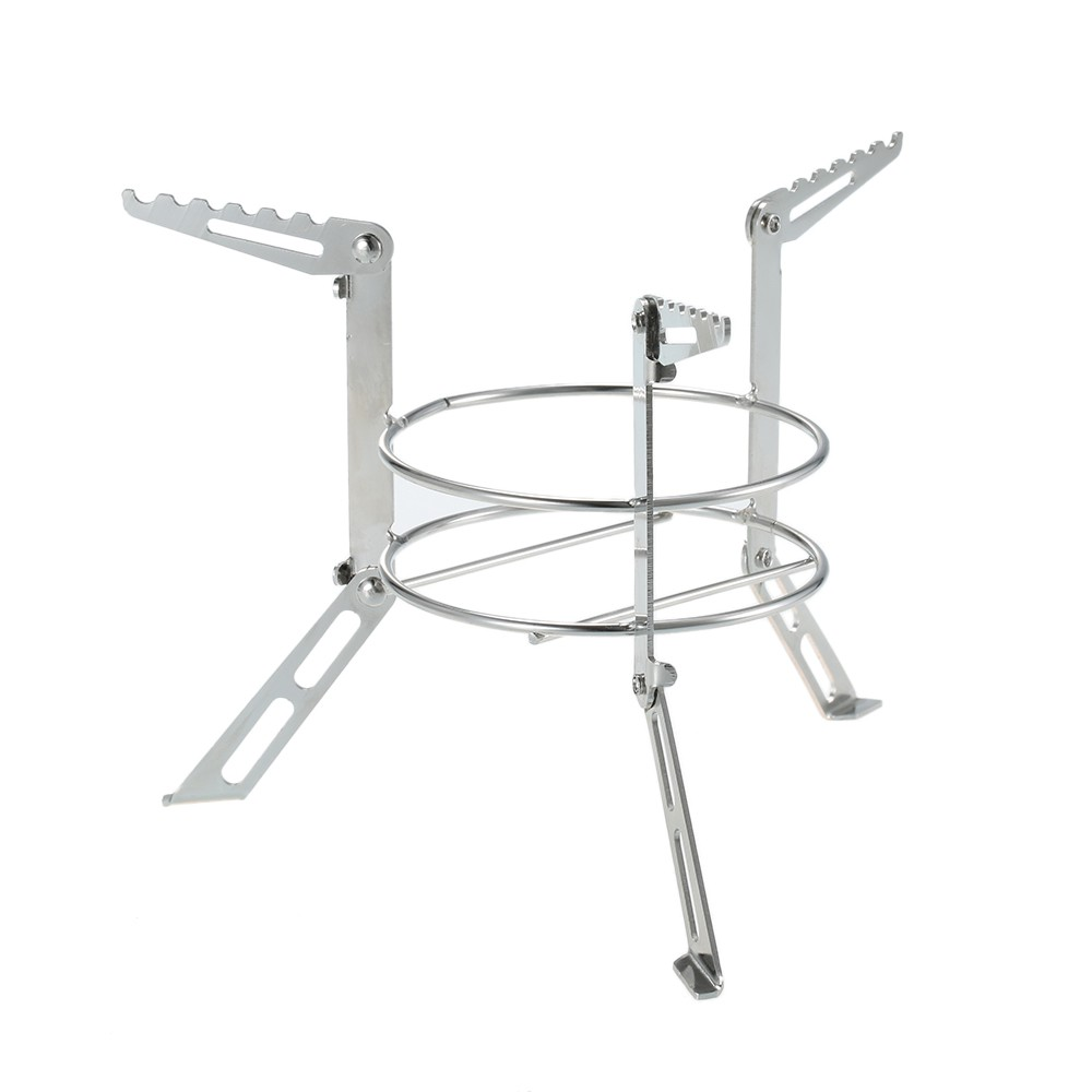 Outdoor Stainless Steel Canteen Cup Stove Stand Support Camping Cooking