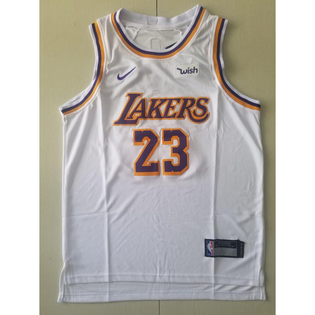online store f9068 9dfe0 NBA 17-18 season L.A. Lakers #23 JAMES KIDS basketball jerseys TOP YELLOW