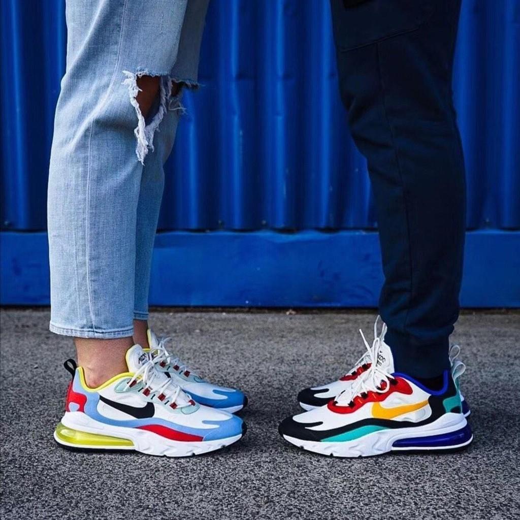 Nike Air Max 270 React Bauhaus Women Fashion Casual Shoes Men S