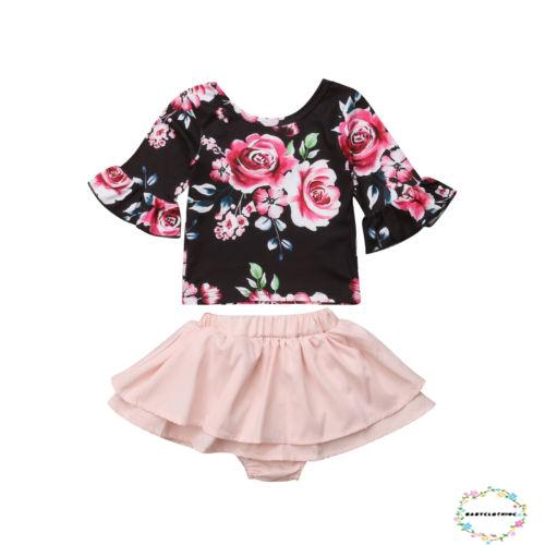 8756cbe80dc7ea BGG-Hot fashion Girl Off Shoulder Crop Tops + Skirt | Shopee Philippines