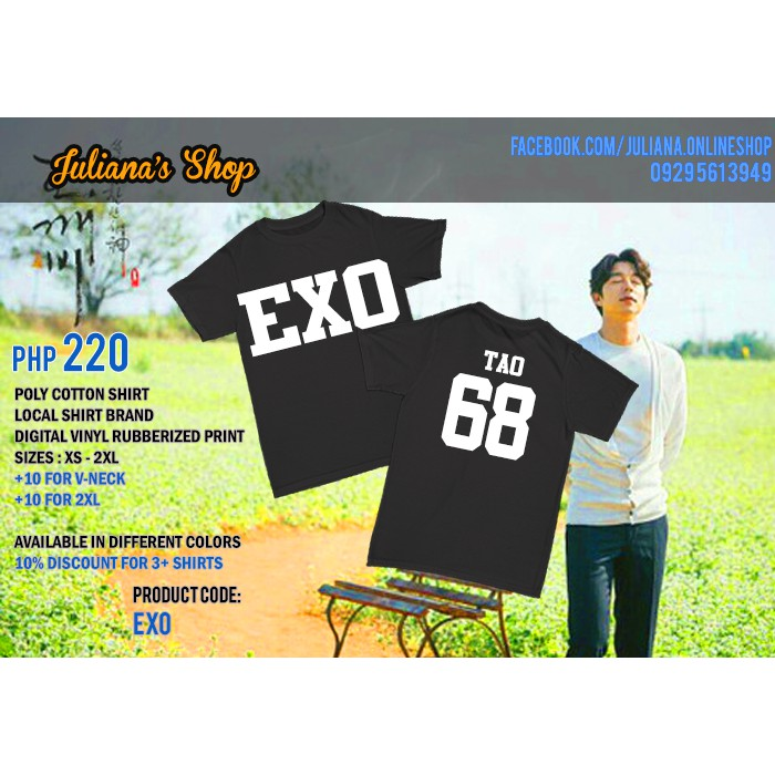 EXO - KPOP Personalized Shirts