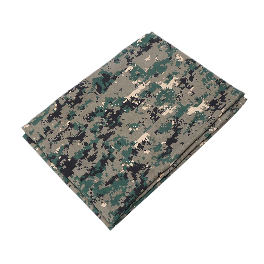 Camouflage Camouflage Print Fabric Cotton Polyester Broadcloth Camo By The Yard 60 inches Wide