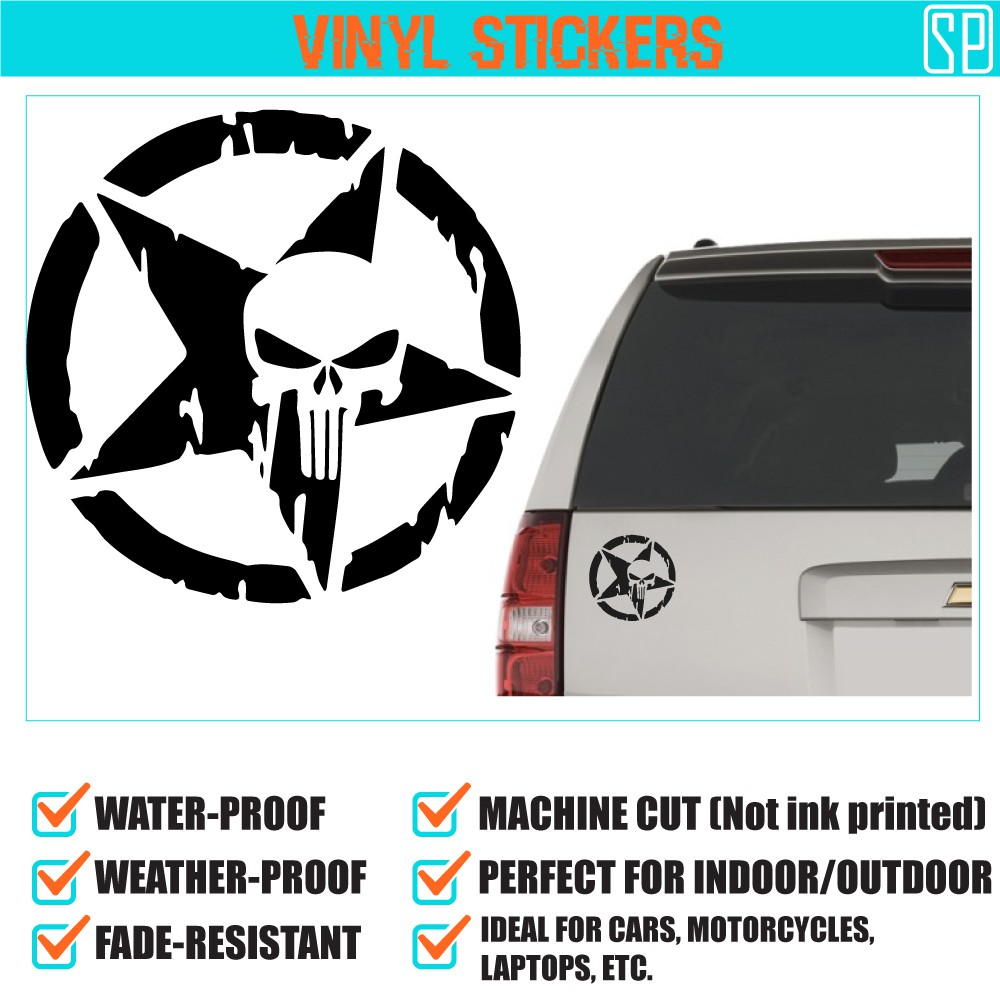 Vinyl sticker for car motorcycle laptop one piece skull shopee philippines