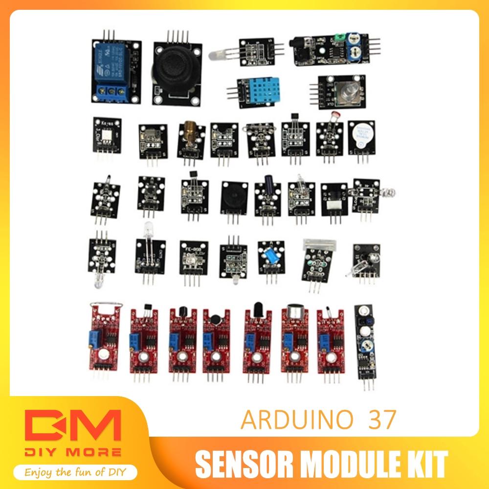 37 Sensor Ultimate 37 in 1 Sensor Modules Kit for Arduino /& MCU Education User