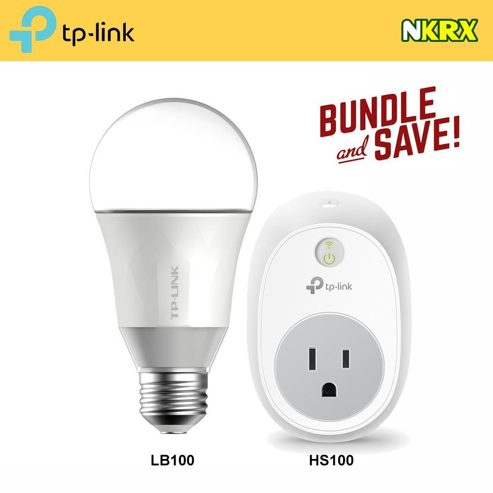 TP-Link HS100 Smart Plug & LB100 Smart Bulb