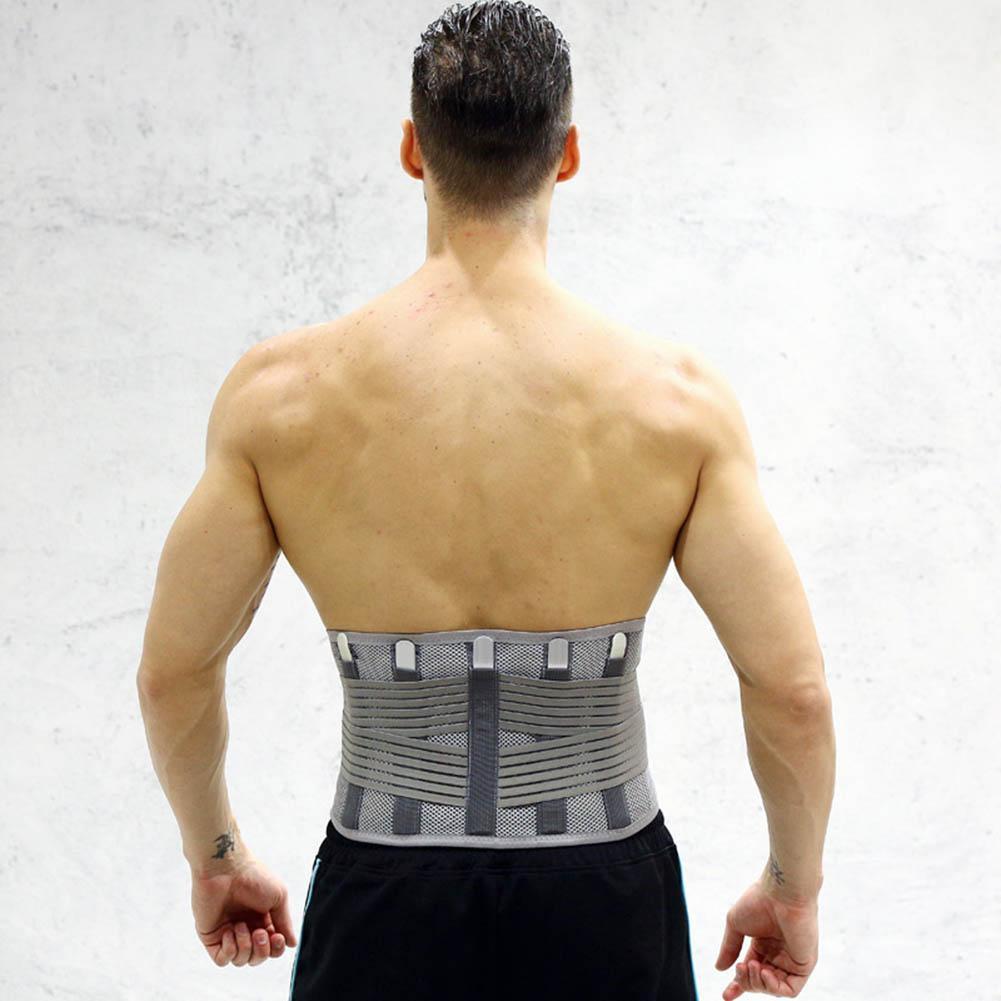 Elastic Lumbar Brace Waist Support Corset Posture Back Belt | Shopee  Philippines