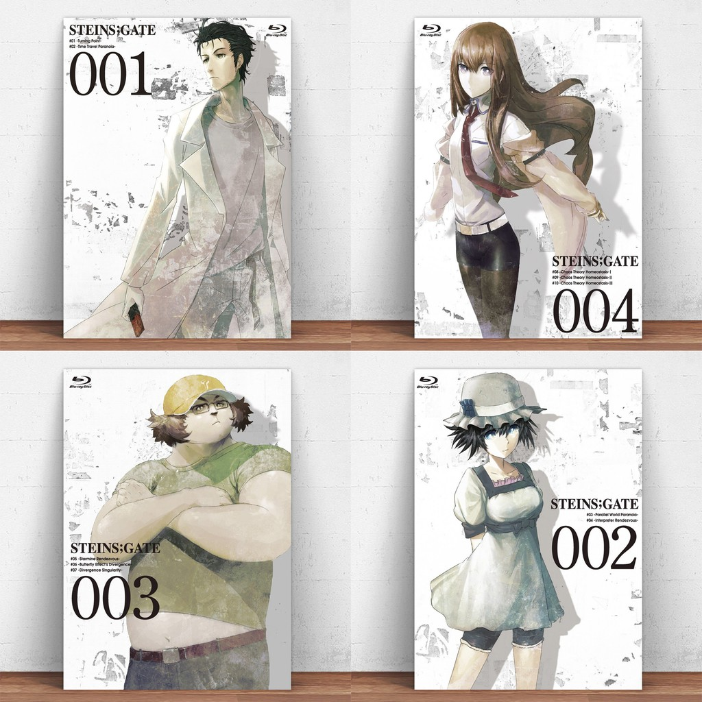 Steins Gate Metal Tin Sign Anime Poster Home Decor Wall Decor Decorative Metal Plate Wall Art Poster Fashion Modern Shopee Philippines