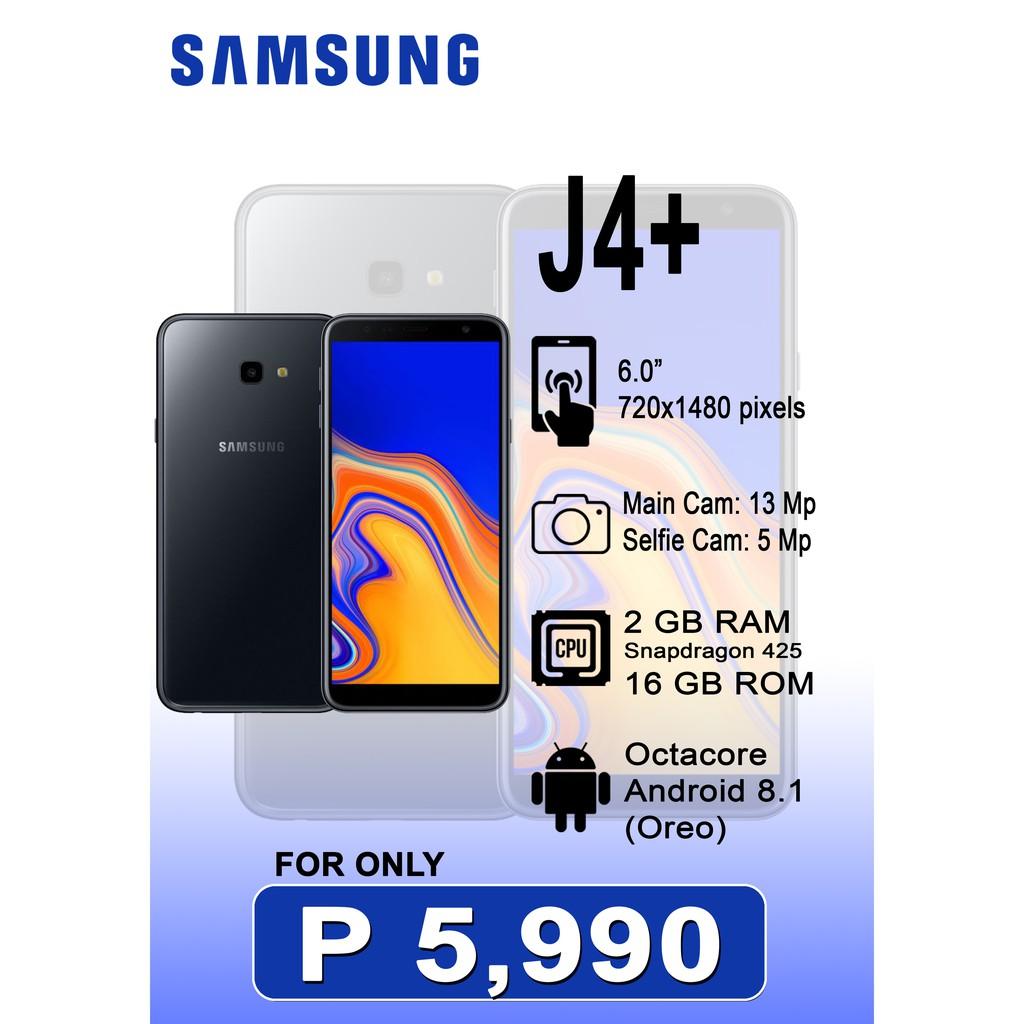 Samsung J4+ 2Gb RAM 16Gb ROM