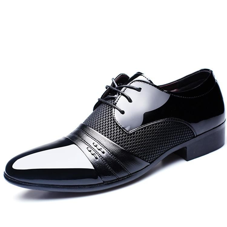 7e369c37d1bf Banggood Shoes for Men Microfiber Leather Comfy Oxfords