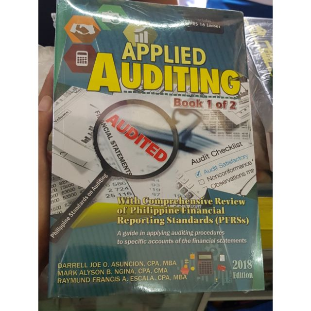 Applied Auditing Book 1 & 2 2018 Edition