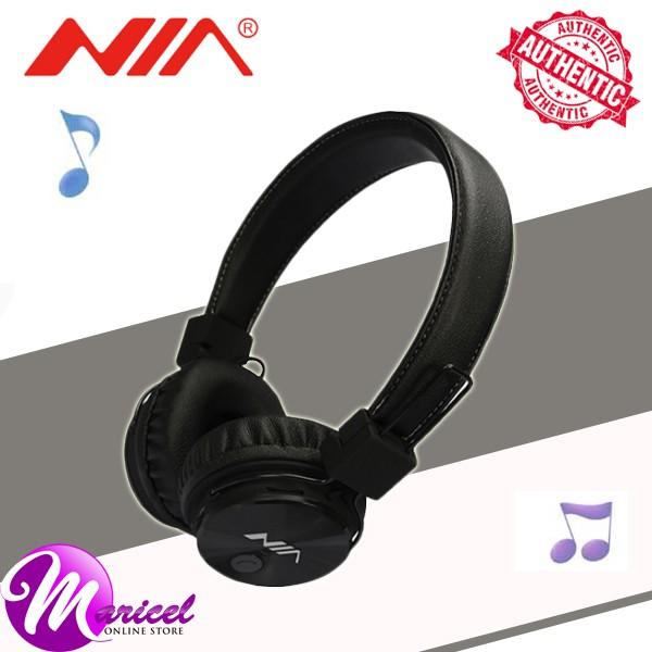 Nia X3 Bluetooth Headset With FM Radio MicroSD/AUX Slot