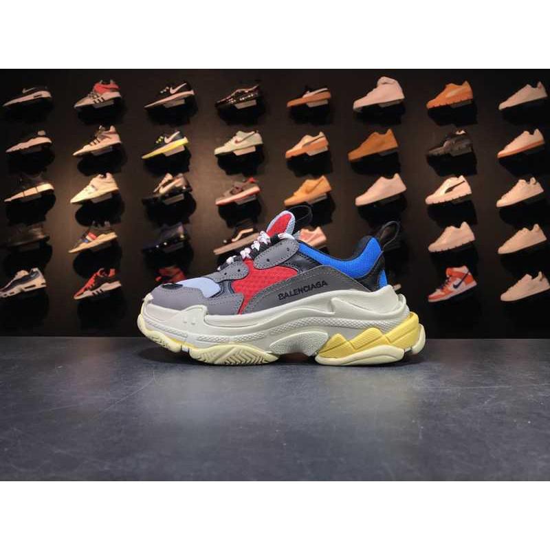 adba570582b 17FW Balenciaga Triple-S Sneaker Retro Platform Shoes Old Se ...