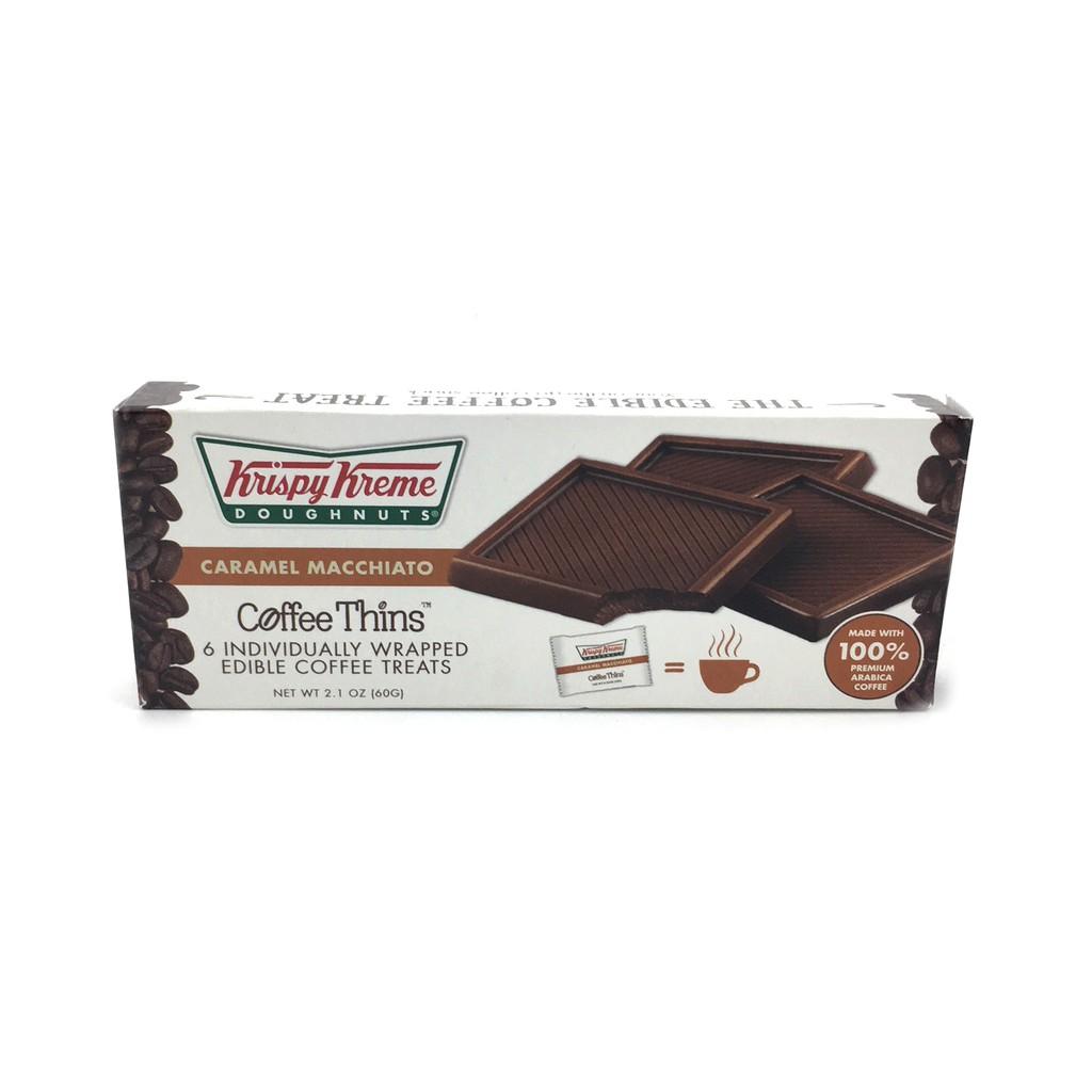 88998a2a8389 Krispy Kreme Doughnuts 6 pcs Coffee Thins Caramel Macchiato