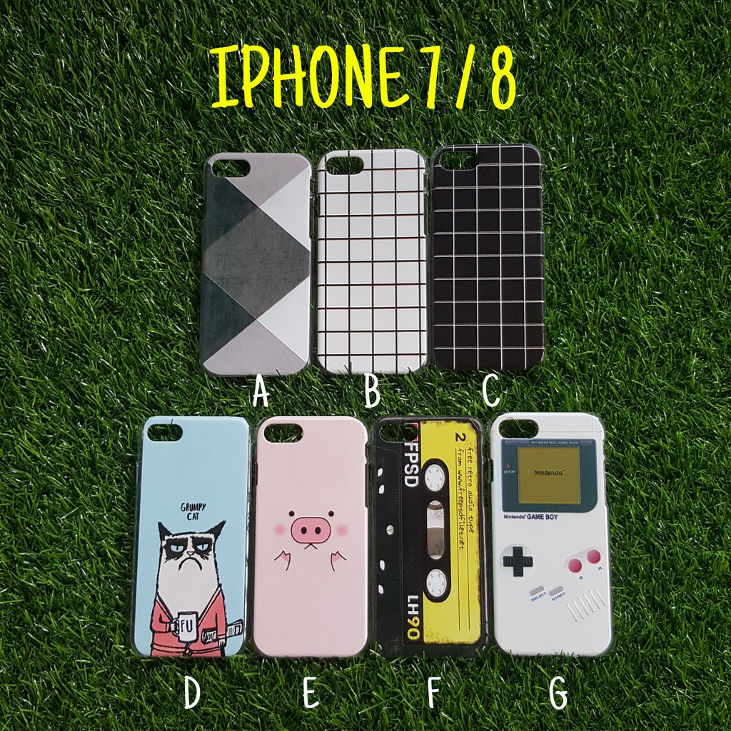 Cute Iphone 7/8 Hard Cases Men