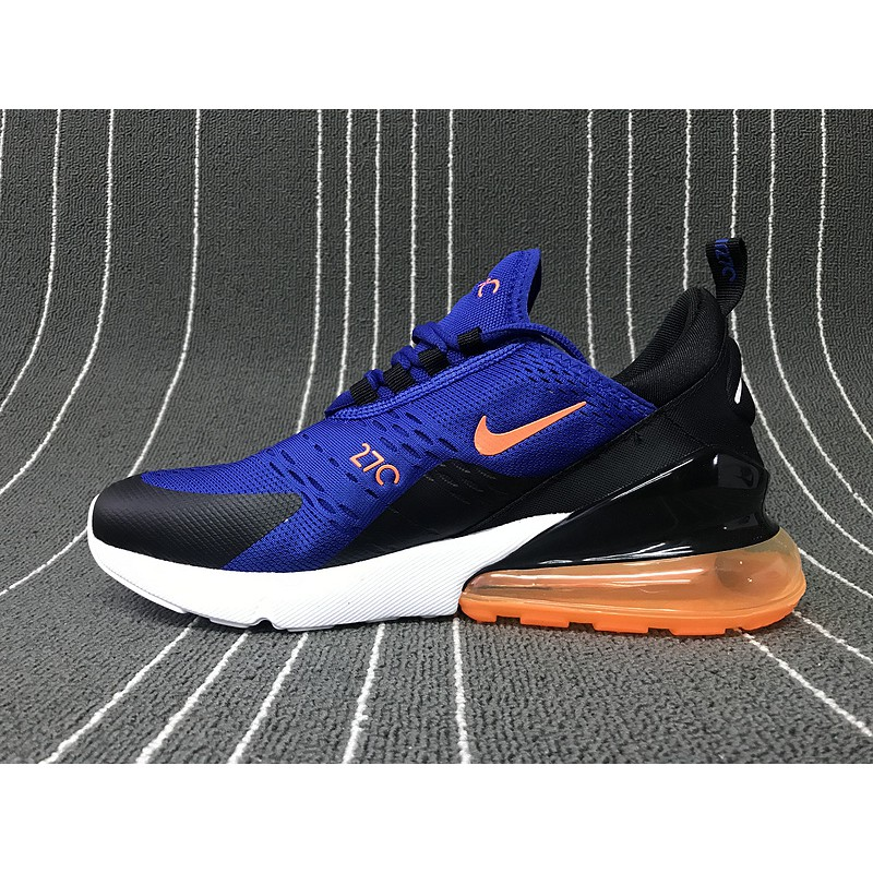 finest selection ad6a3 a4c47 Nike Air Max 270 Flyknit Blue orange red AQ1264-011