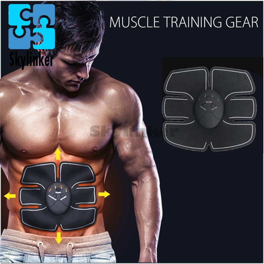 f001a3a5f4332 YYS- Abs Stimulator Abdominal Fitness Fat Burning Sticker