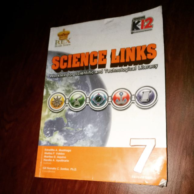 Science Links Grade 7 Book