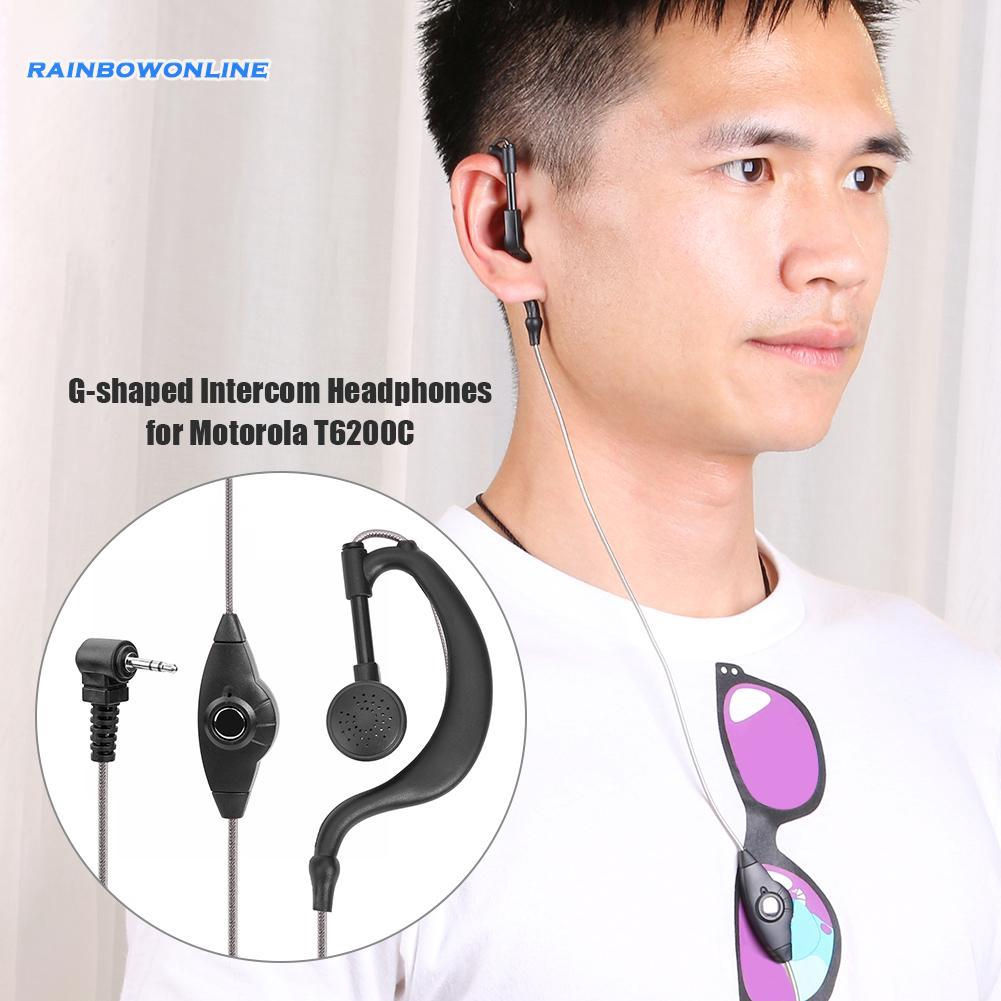 【RAIN】Motorola Radio G Shape Headset Earphone Earpiece Mic PTT