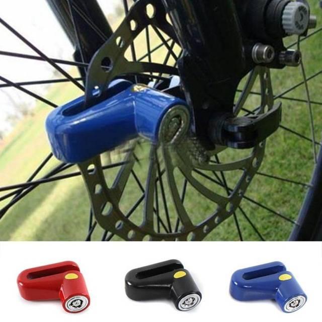 Motorcycle Rotor Disc Lock Alarm Bike Scooter Security Anti-theft Wheel Brake