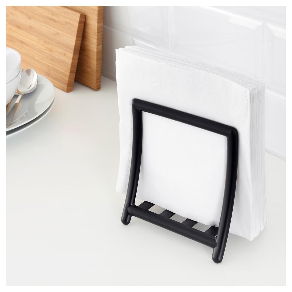 Ikea Table Napkin Holder Greja Black Shopee Philippines