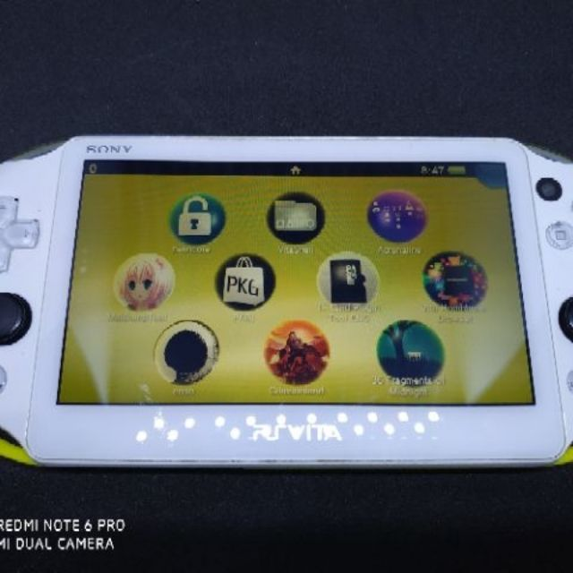 Sony PSVita with many game