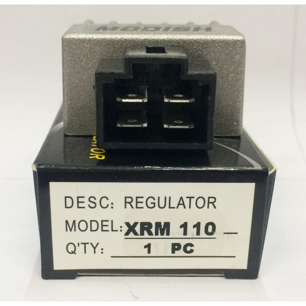 Regulator Rectifier Stock Xrm110 Modish Shopee Philippines