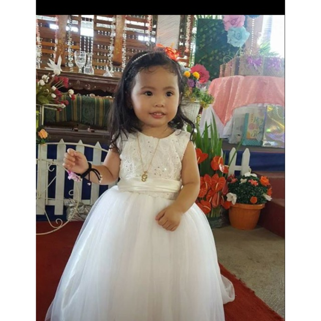 de50b87bf3eff Little brides gown | Shopee Philippines