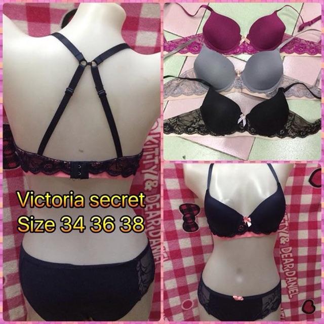 da69fd433610f Victoria s Secret lace Bra and Panty Set COD   Free SF