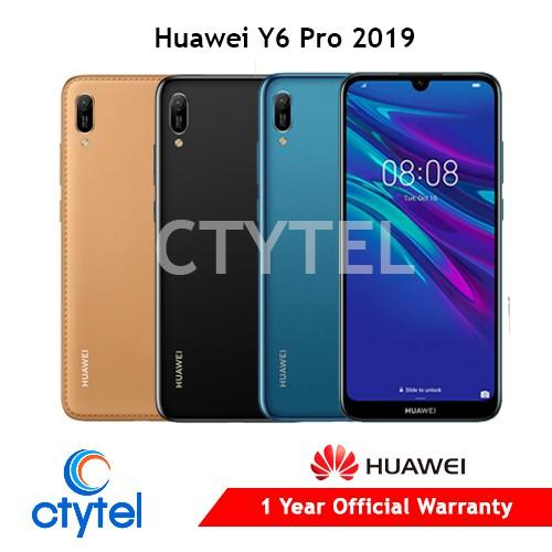 Huawei Y6 Pro 2019 NTC 1 year Huawei warranty