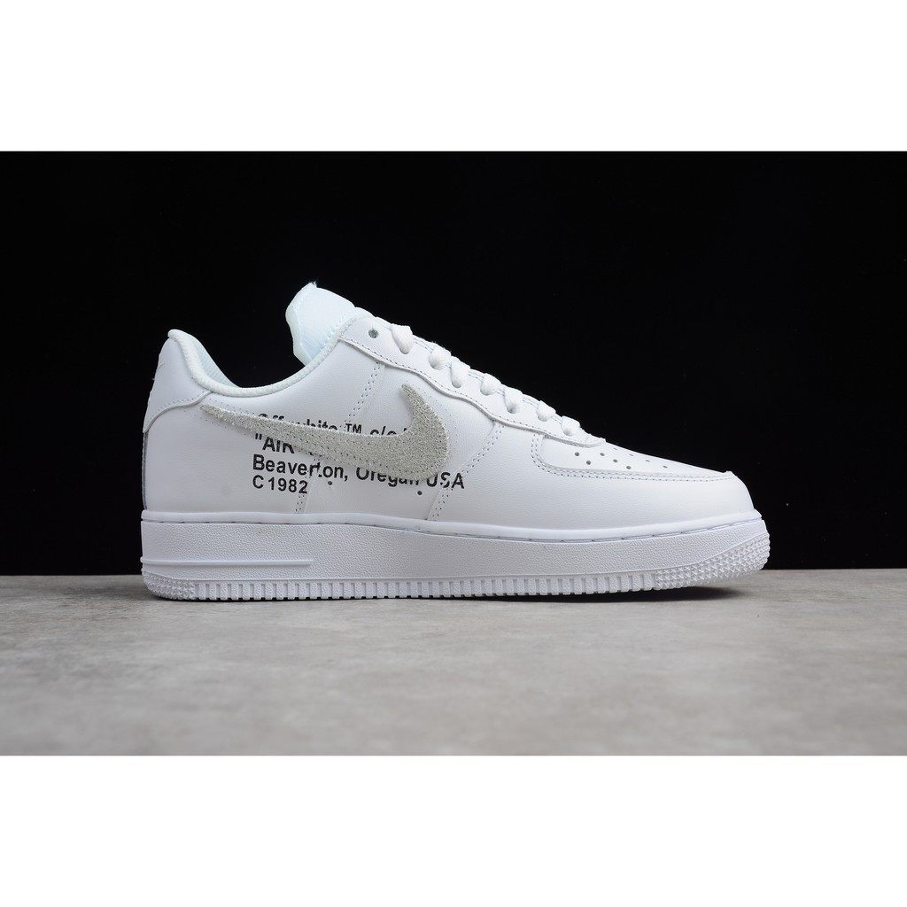 KP Nike Air Force 1 Off White x Supreme x CDG the ten white sport shoe