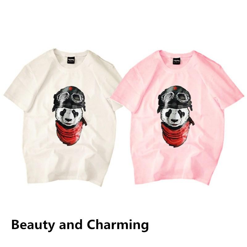 c4ce3578e Couple shirts Korean 7 up Printed t shirt Plain T tops Tee