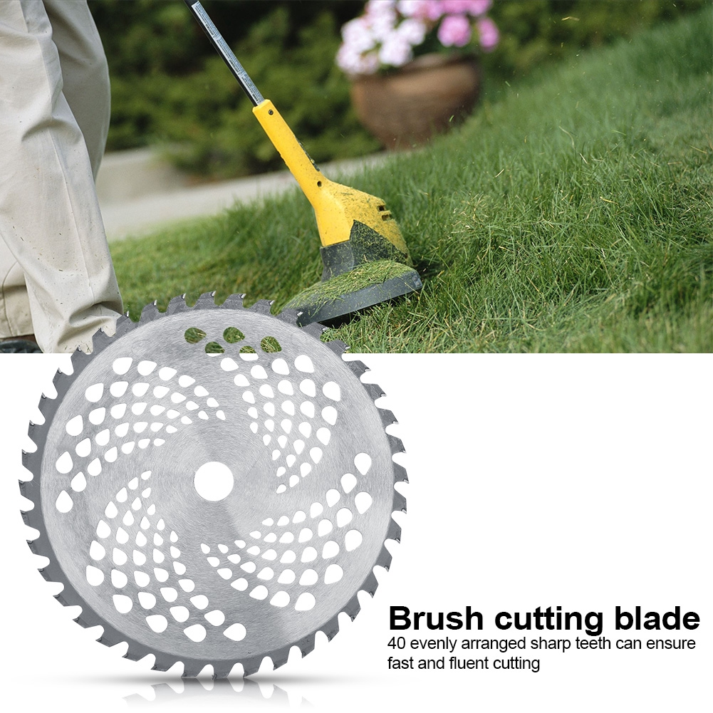 Symbol Of The Brand 1pc Garden Power Tools 6t Blade Manganese Steel Mower Grass Trimmer Head Brush Cutter Blade Garden Lawn Machine Accessories New Garden Tools Tools