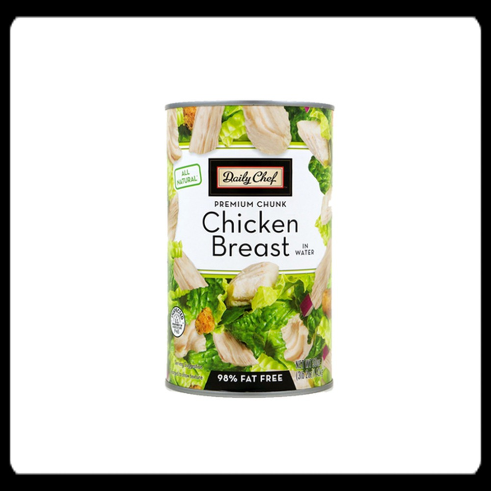 Daily Chef All Natural Chicken Breast in Water 1 4 kilograms