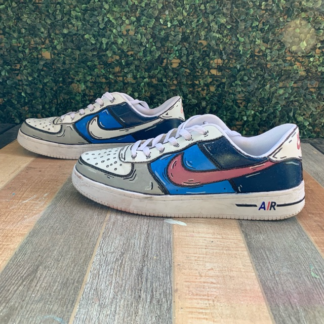 Cartoon Custom Air Force 1 Shopee Philippines