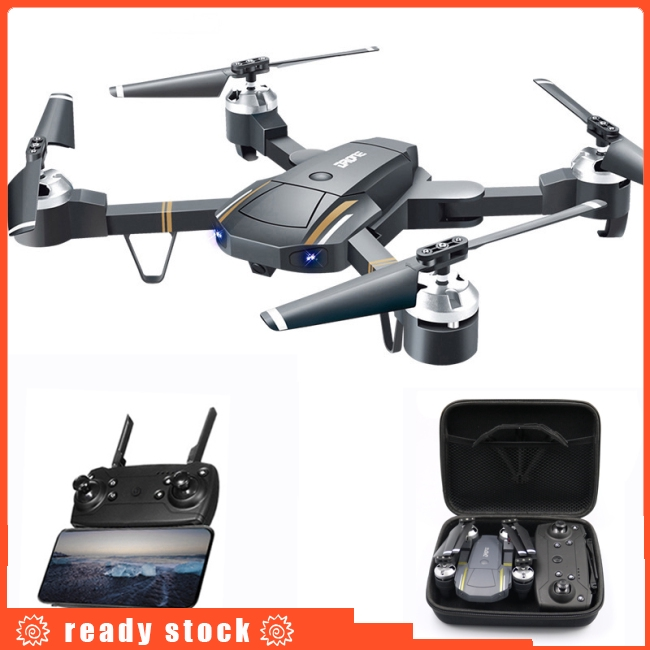 GW58/XT-1 Folding Selfie Drone with Camera HD Headless Mode Hover  Quadcopter Wifi FPV RC